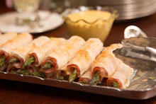 celebrate Crispy Phyllo Wrapped Asparagus with Honey Mustard Dipping Sauce