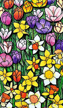 national Spring Garden Mosaic by Sabrina Frey Mint Hill NC