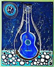 anything Griffis Kristin Message in a Bottle Acrylic