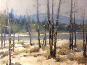 workshop N. Rizos January Thaw Adirondacks Oil. 300dpi CMYKjpg