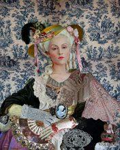 biennale Urdang Rhonda After Self Portrait with Straw Hat 1782 Mixed Media