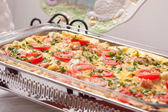 celebrate Lowcountry Breakfast Strata photography by Paul Nurnberg