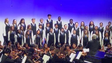 BA Blue Notes Sing 'Hamilton' and More