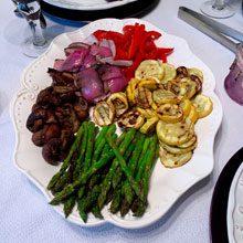 celebrate grilled veggies