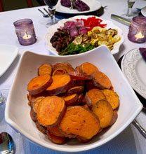 celebrate roasted sweet potatos