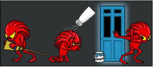 bugs salt shaker