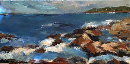 side Acadia Coast Nancy Vineburg