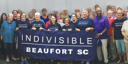 Indivisible Beaufort Addresses Election Issues