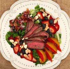 celebrate grilled summer salad