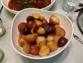 celebrate italian new potatoes
