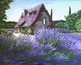 Impressions of France: Colorful Oils by Kim France