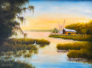 Terry Brennan Painting 2