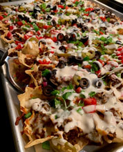 Nachos Locos (& Wings)