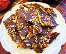 Celebrate Holiday Pumpkin Spice Toffee