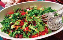 celebrate gourmet chopped salad