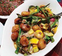 celebrate oven roasted vegetables