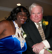 Sallie and Pat Conroy