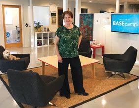 Digital Corridor Shelley Barrett Floor