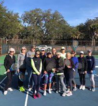tennis USTA 3.5 level womens 40sabove tennis team