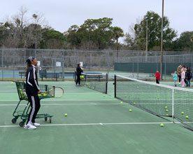 tennis coach larry free clinic