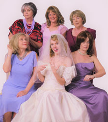 Coastal Stage Productions Presents  'Always a Bridesmaid'