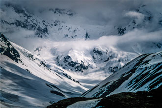 Photo Albert Stockell Snow Storm in the Andes Intermediate