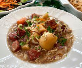 celebrate irish corned beef stew