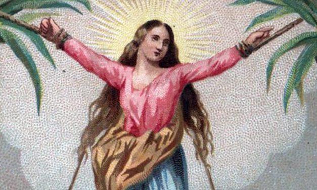 St. Corona and the Daily Cross of Virus Days