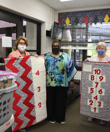Dataw Quilters Deliver 80 Quilts to St. Helena Early Learning Center