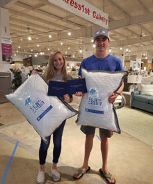 FWDG Celebrates High School Grads with Free Pillows
