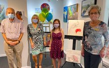 May River Student Receives Art Scholarship