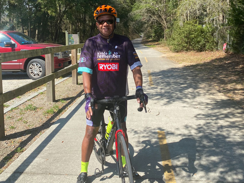 Beaufort Resident Riding to Remember
