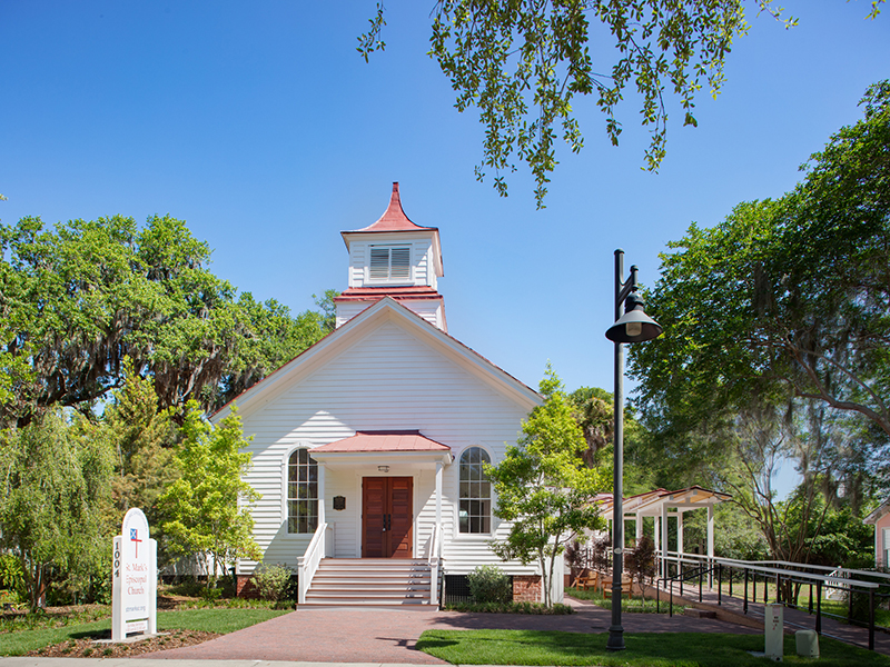 St. Mark's Returns to Renovated, Expanded Church
