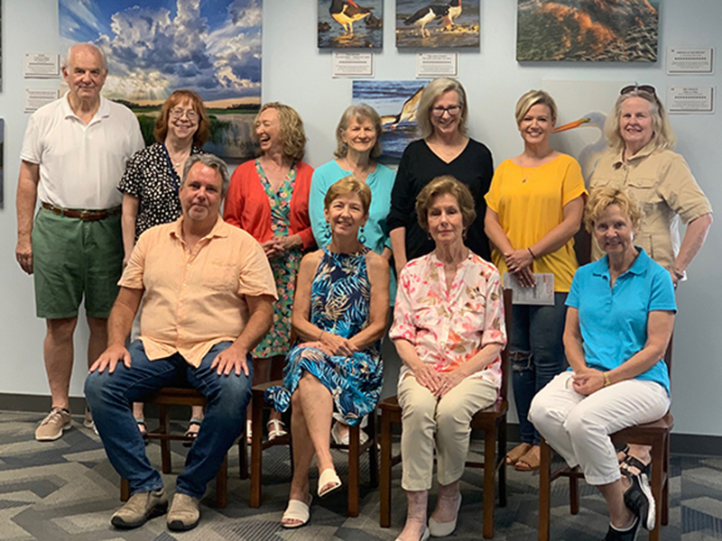 Friends of Beaufort Library Add Board Members and Officers