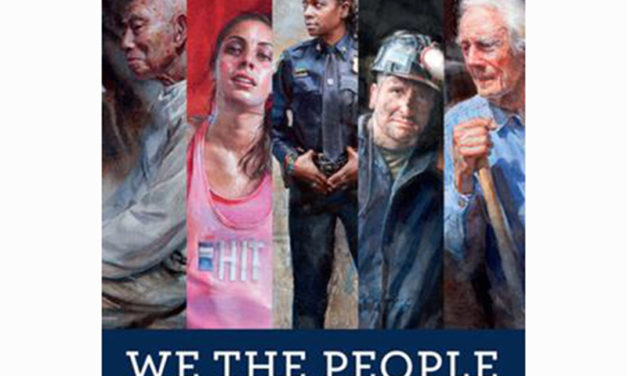 'We The People' Artist at NeverMore Books