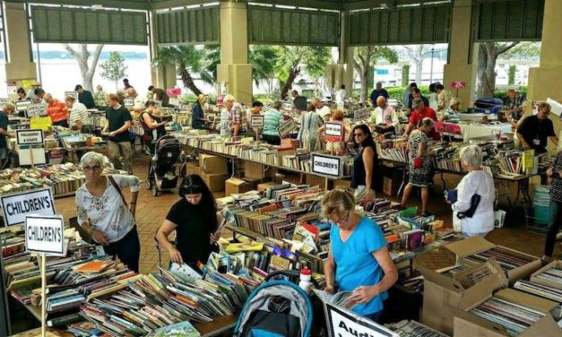 Fall Book Sale Returns to Waterfront Park